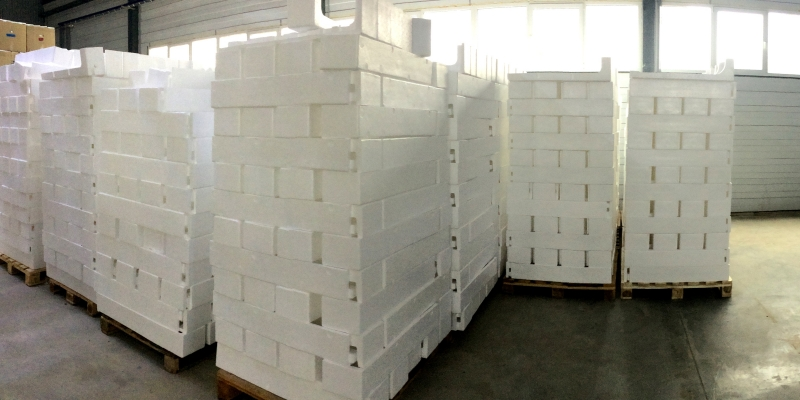 Производство пенопласта в Краснодаре